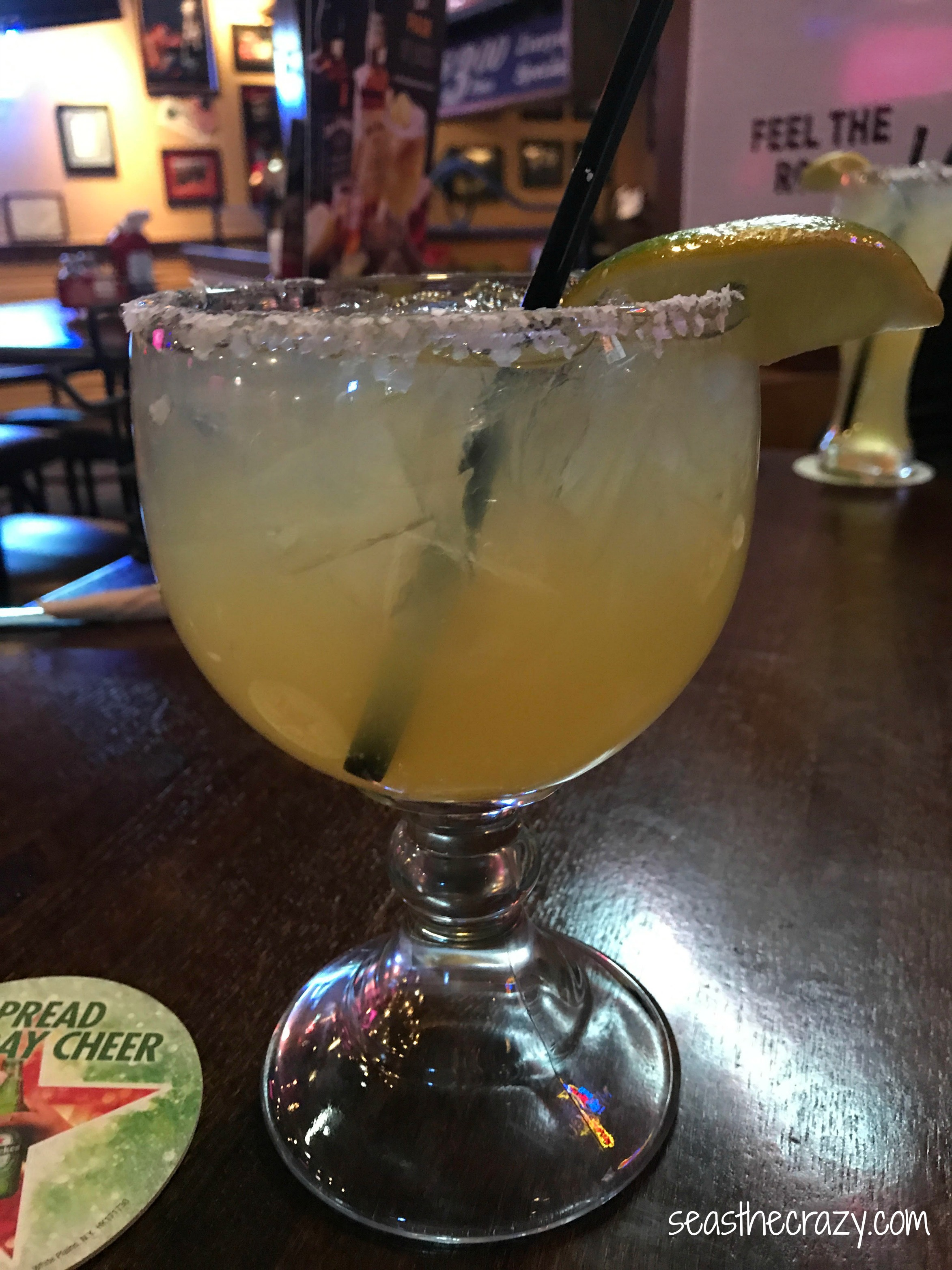 Taking the time to celebrate mommy victories and transitions of motherhood with the perfect margarita. seasthecrazy.com