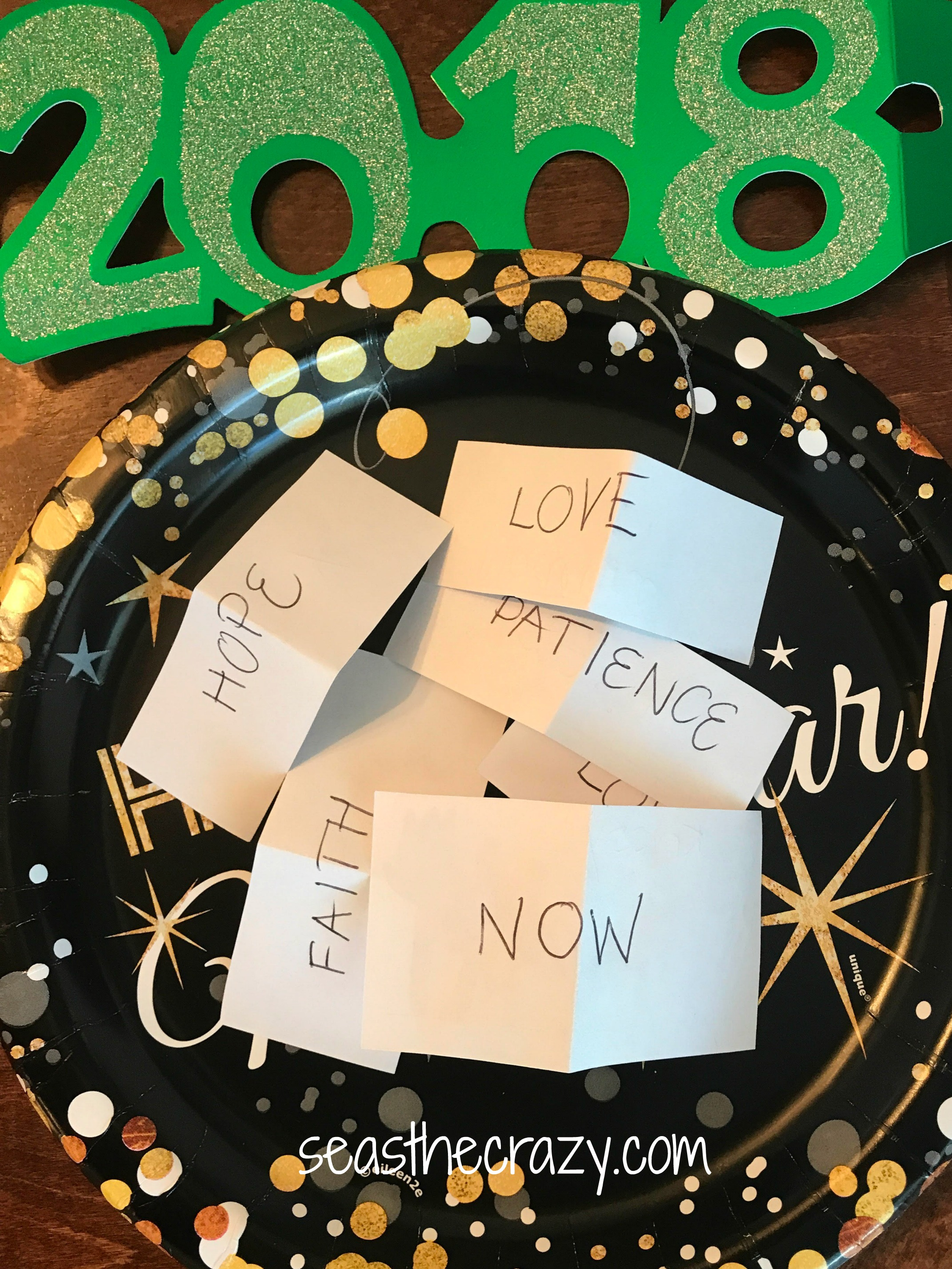 This year instead of the typical list of New Year resolutions, my family decided to go with choosing one focus word for 2018. My word is now.
